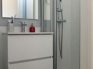Reforma de baño pequeño con ducha
