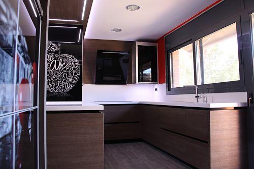 Distribuci n para cocinas cu l es la ptima para tu casa for Cocinas cuadradas