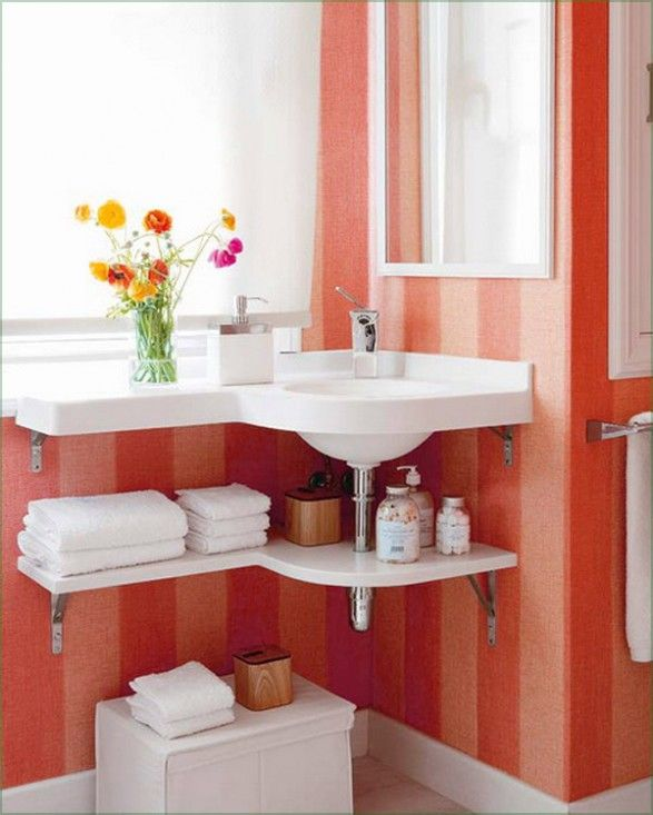 Reformar Un Baño Pequeno:Bathroom Under Sink Storage Ideas