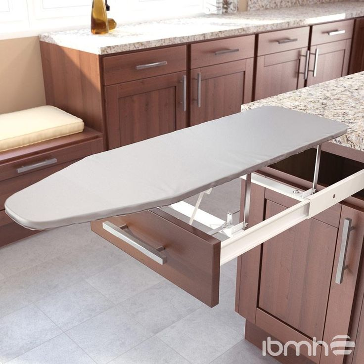 slide out ironing board