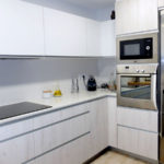 Reforma de cocina con ventana guillotina