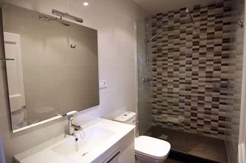 Reforma integral con baño ducha