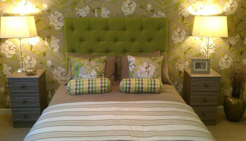 Decorar dormitorio con papel pintado