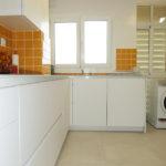 Reforma de cocina blanca en L