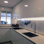 Reforma de cocina con iluminación led