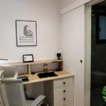 Reforma integral de piso - estudio en pasillo